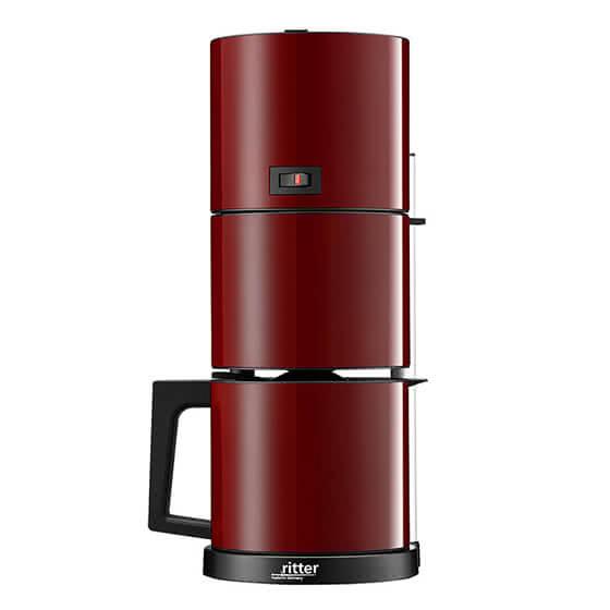 ritter コーヒーマシン cafena5 赤