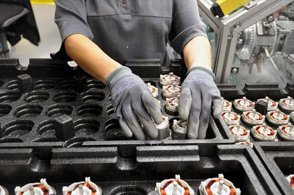 現代の工場風景